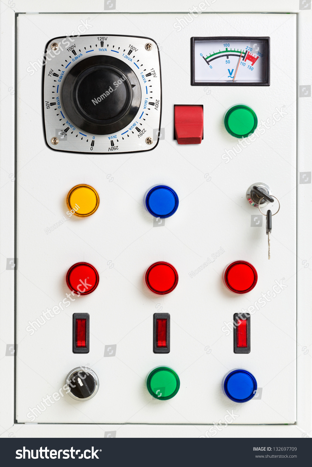 Control Panel Electrical Switchgear Cabinet Stock Photo 132697709 Shutterstock