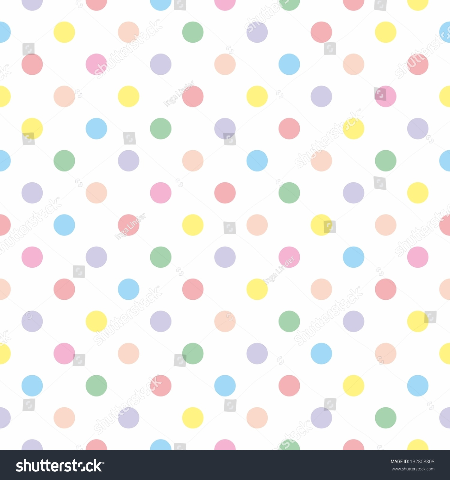 Seamless Vector Sweet Pattern Or Texture With Colorful ...