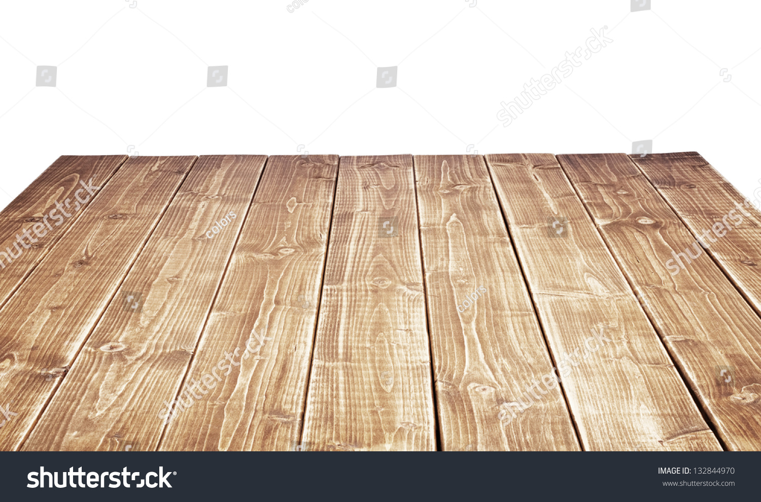 Empty wooden table top stock photo 132844970 shutterstock for Html table th always on top