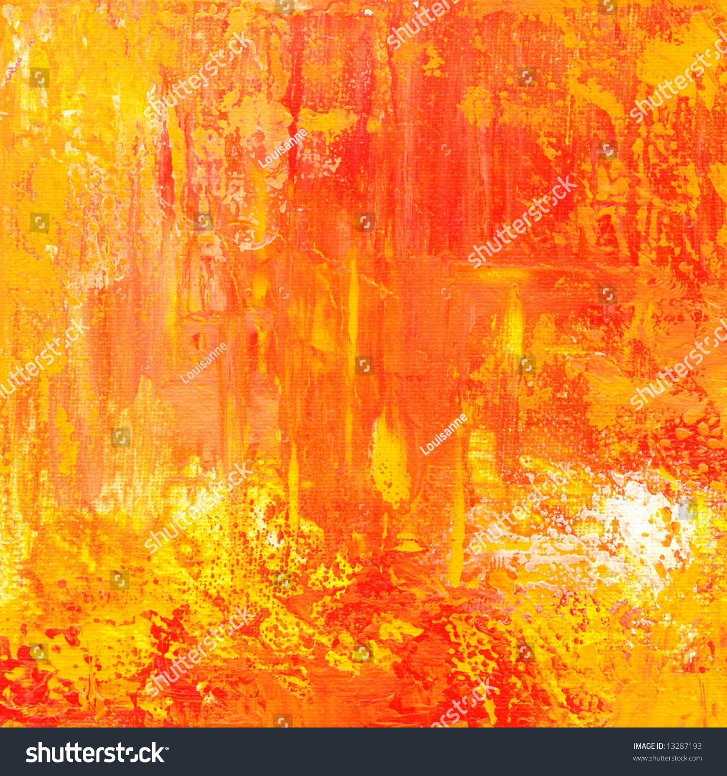 Abstract Painted Grunge Background Texture Different Stock