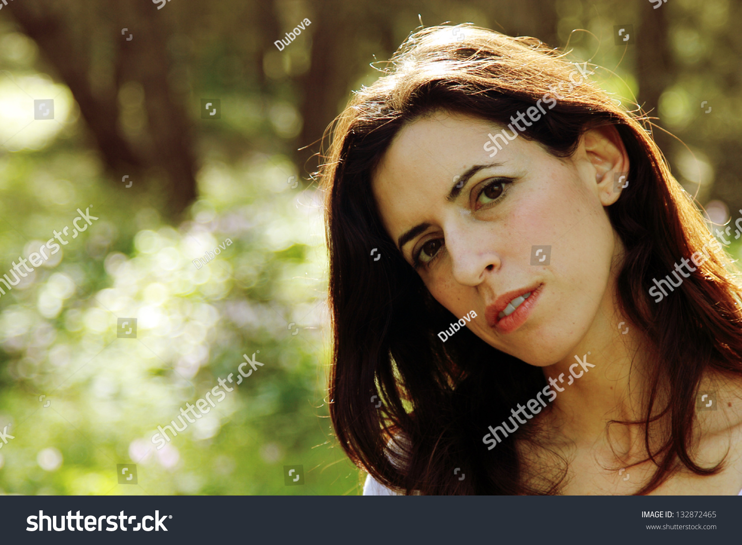 ca5cbcf765 Portrait Beautiful 35 Years Old Woman Stock Photo (Edit Now ...