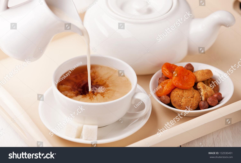 how to make homemade milk tea