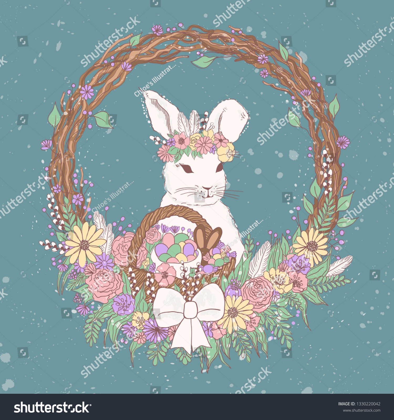 stock-vector-vector-pastel-floral-easter