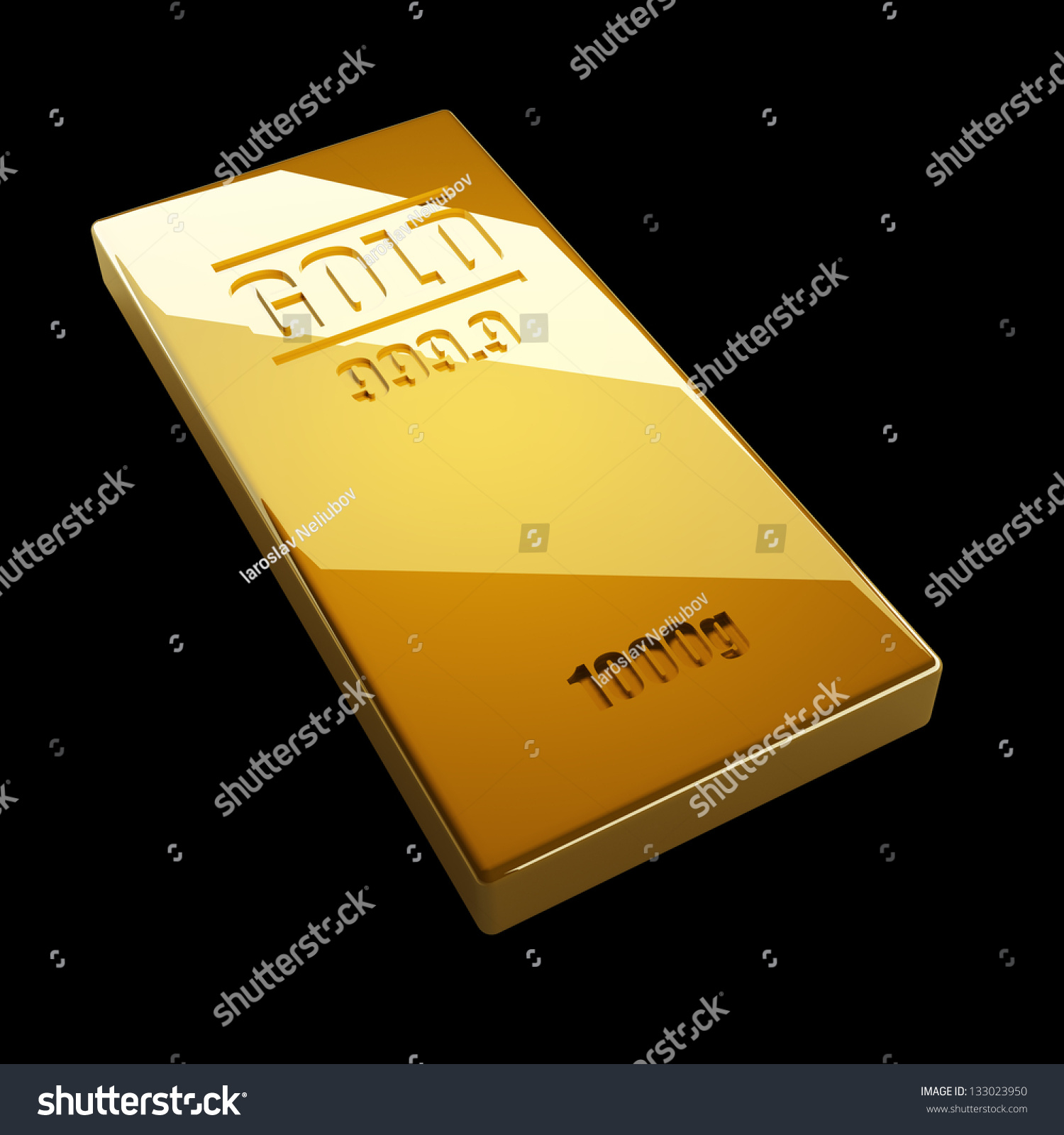 gold bar black background - photo #21