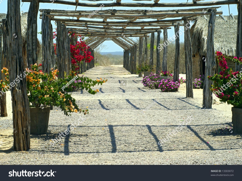Flower Trestle Stock Photo 13303072 Shutterstock