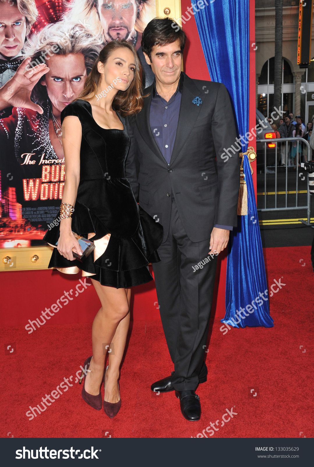 los angeles ca stock photo shutterstock los angeles ca 11 2013 magician david copperfield girlfriend chloe