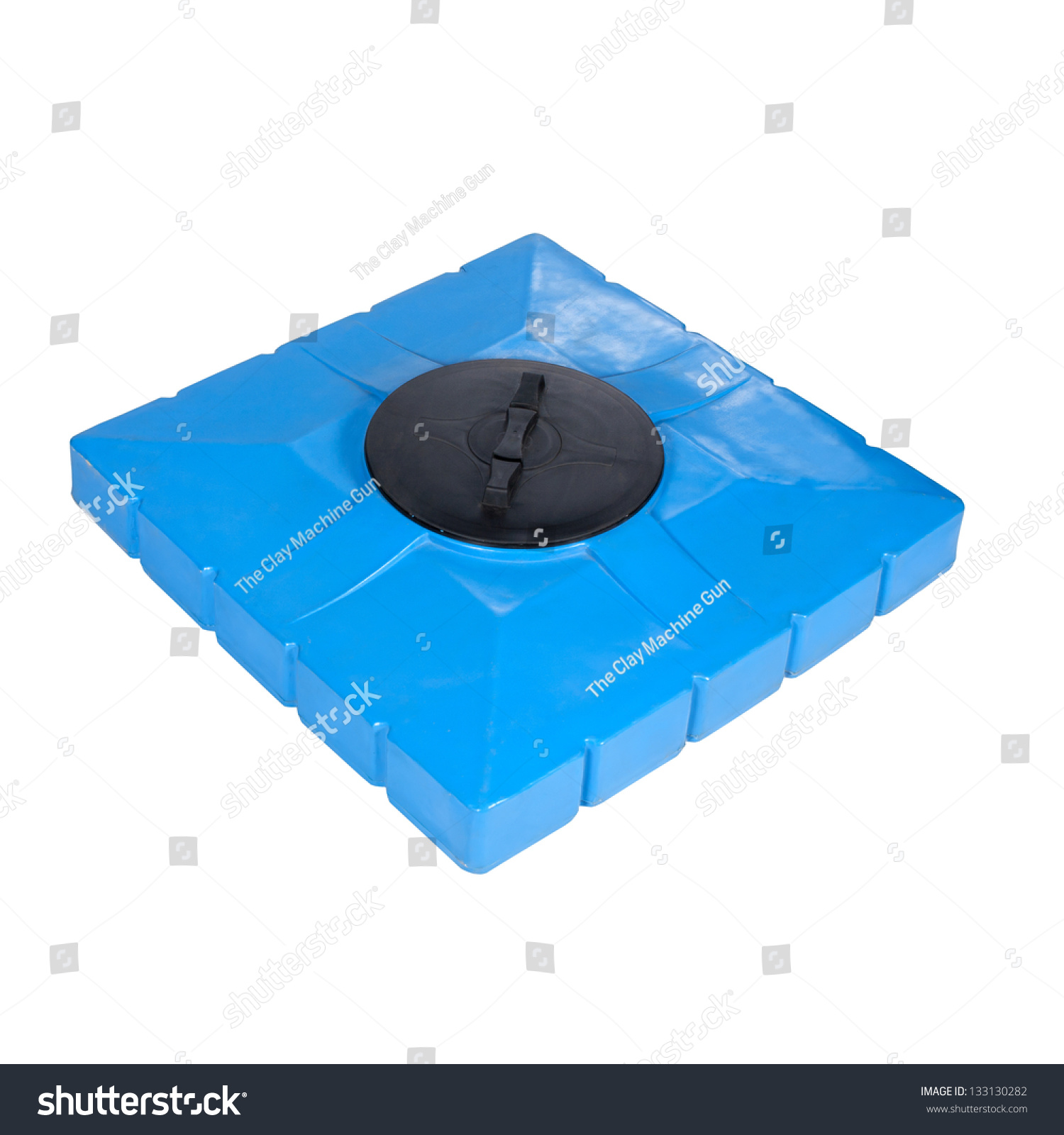 Big Polyethylene Container 160 L Shower Stock Photo (Royalty Free ...