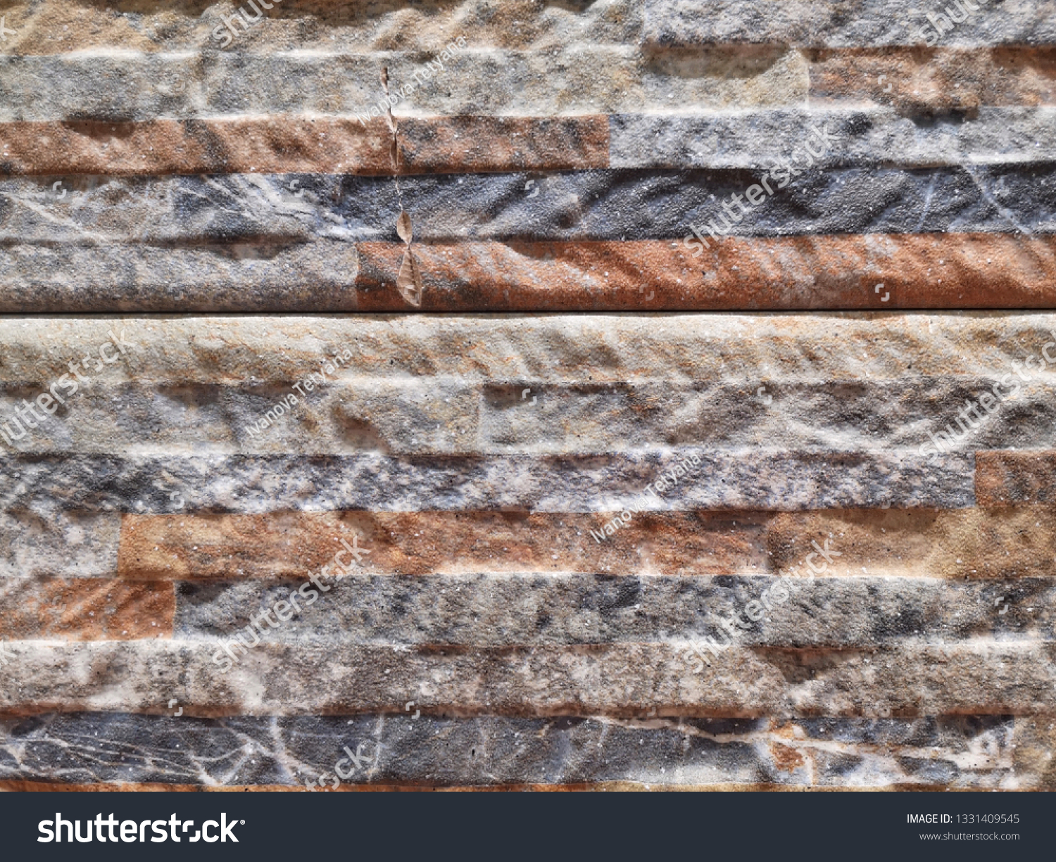 Natural Stone Background Selective Focus Gray Stock Photo