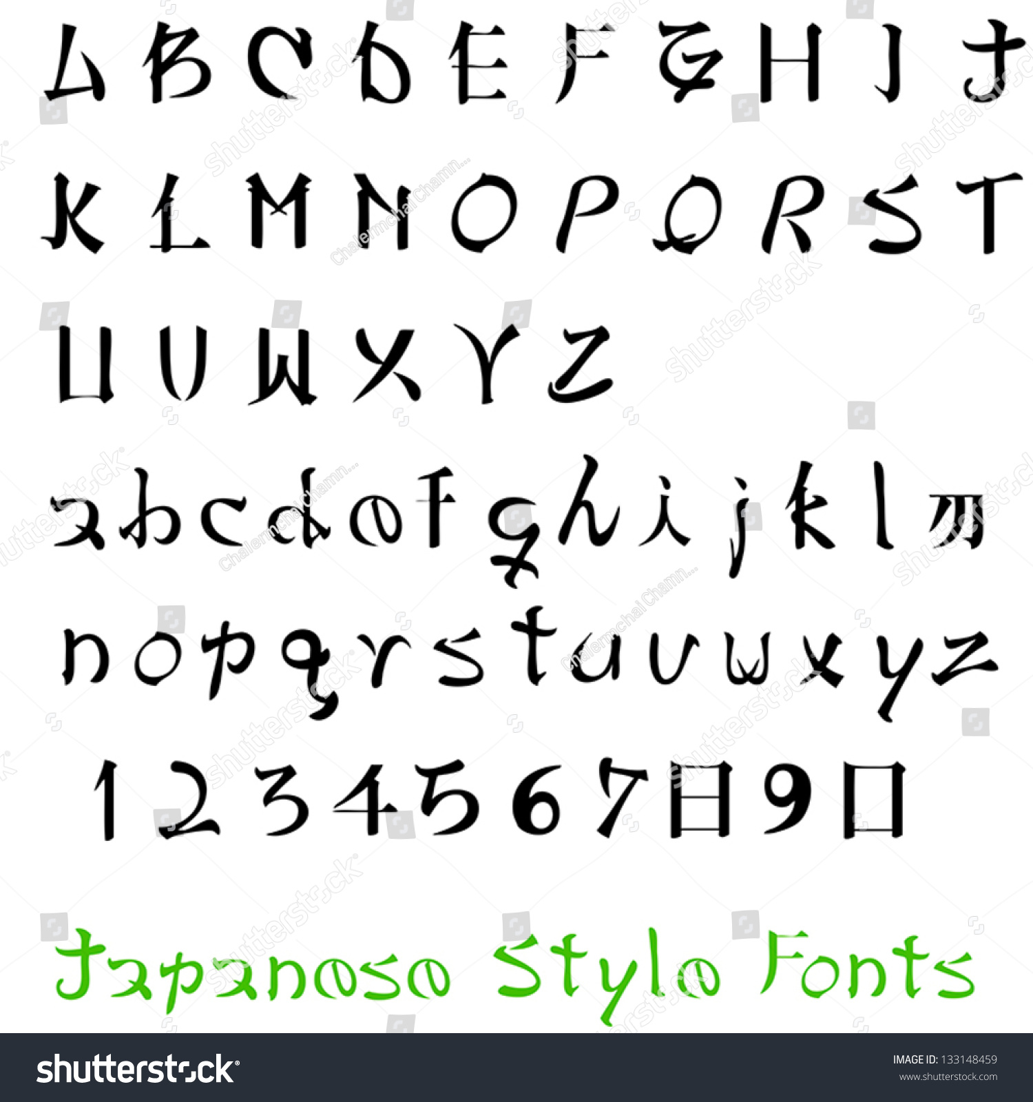 Letters In Pictures Style 36