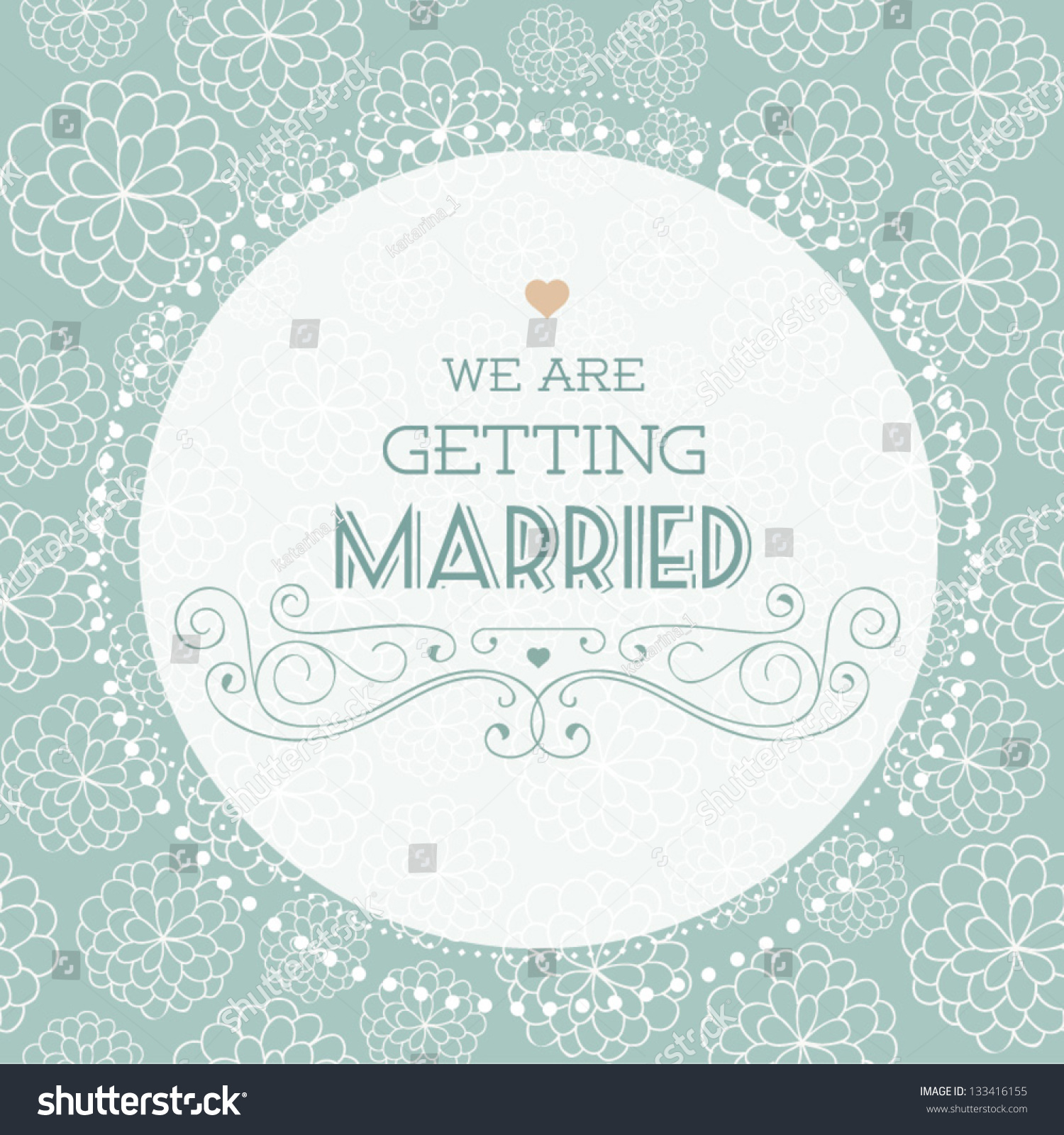 Vector illustration wedding invitation card seamless stock vector hd wedding invitation card seamless floral pattern can be used for wallpaper stopboris Image collections