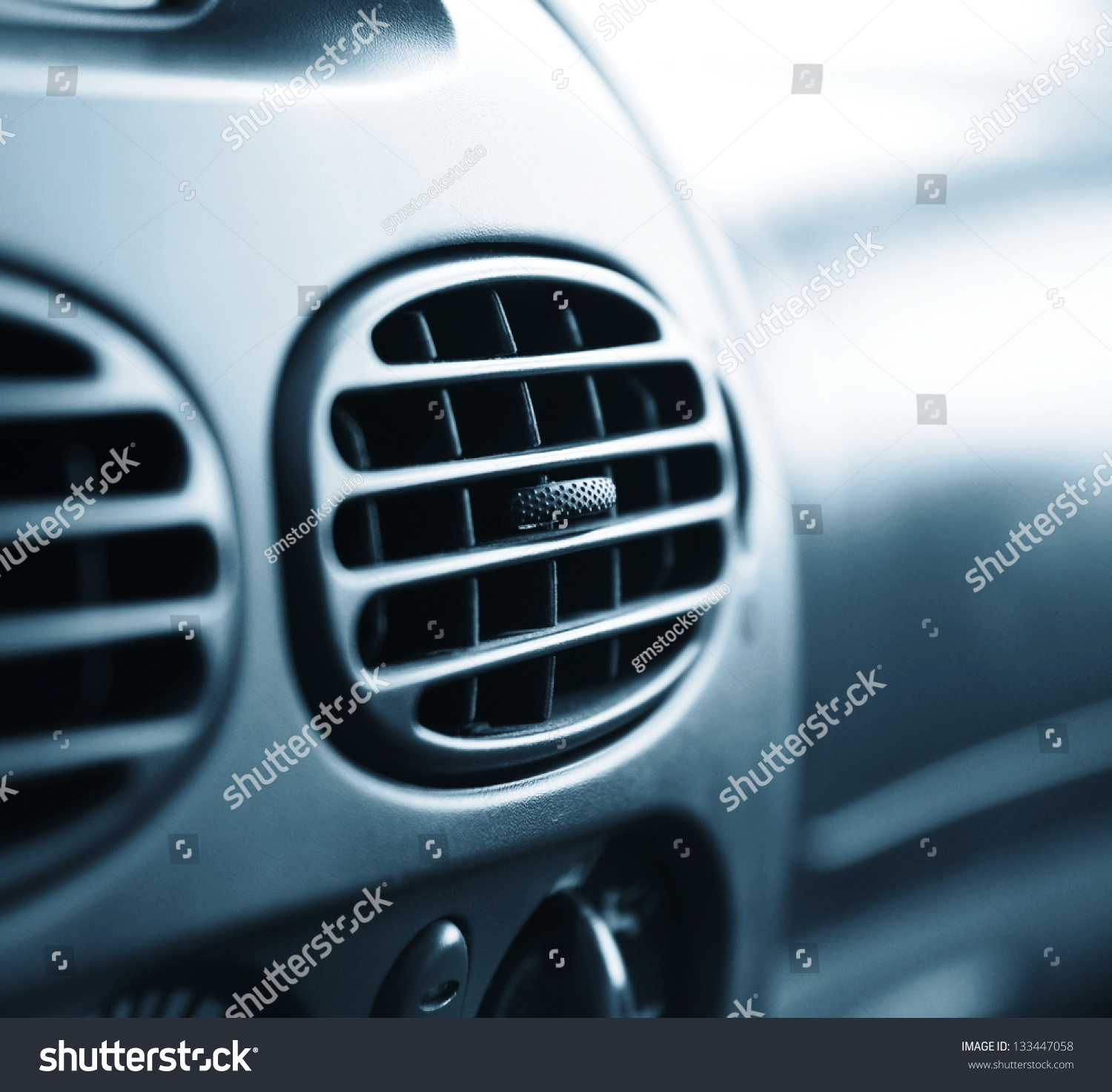 car interior conditioner very shallow dof stock photo 133447058 shutterstock. Black Bedroom Furniture Sets. Home Design Ideas