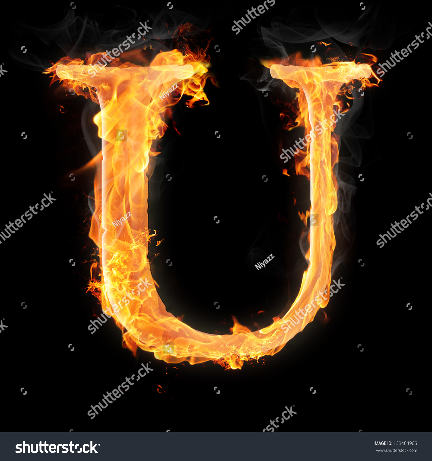 Letters symbols fire letter u stock illustration 133464965 letters and symbols in fire letter u thecheapjerseys Image collections