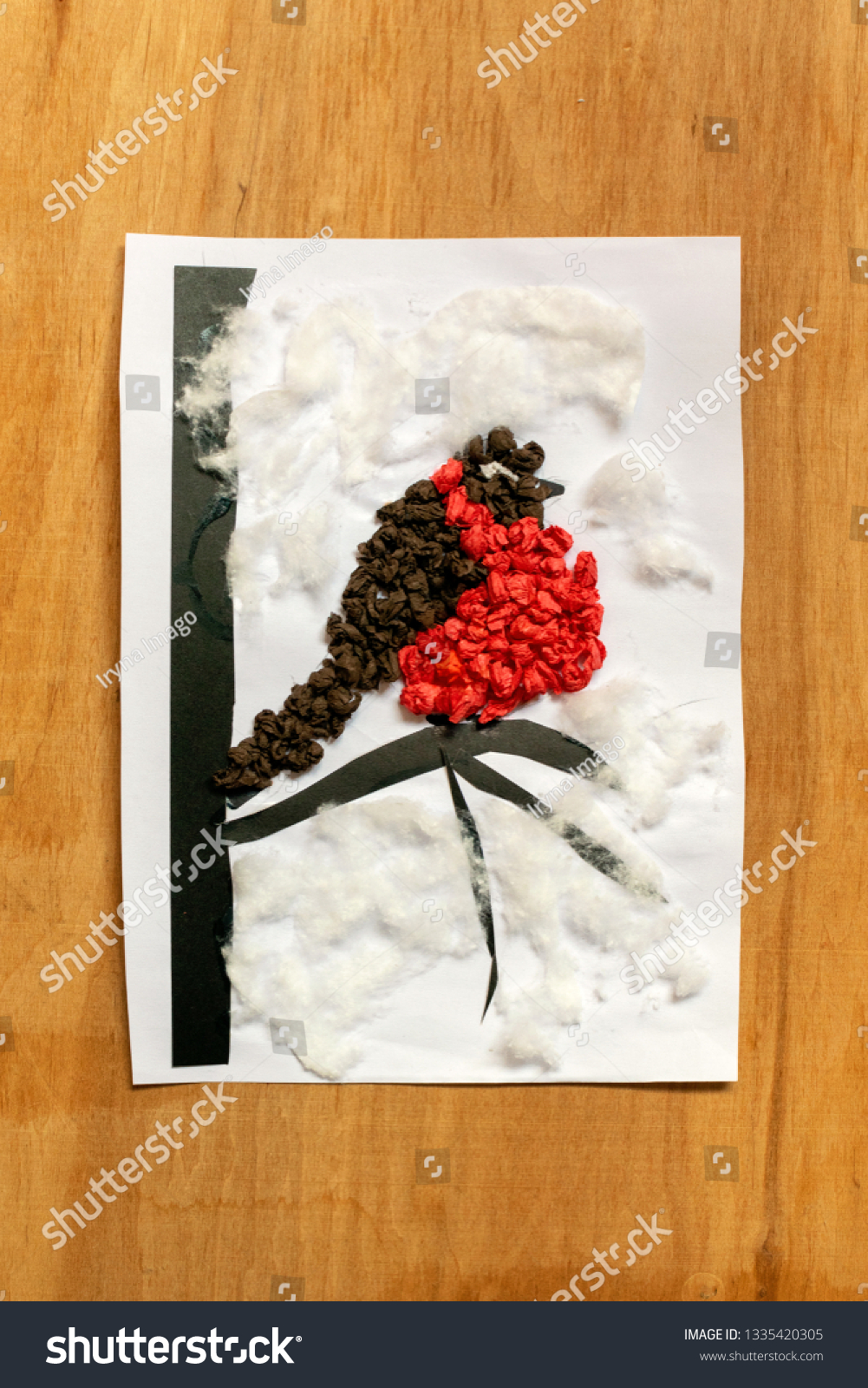 Winter Preschool Arts Crafts Activities Easy Stock Photo Edit Now
