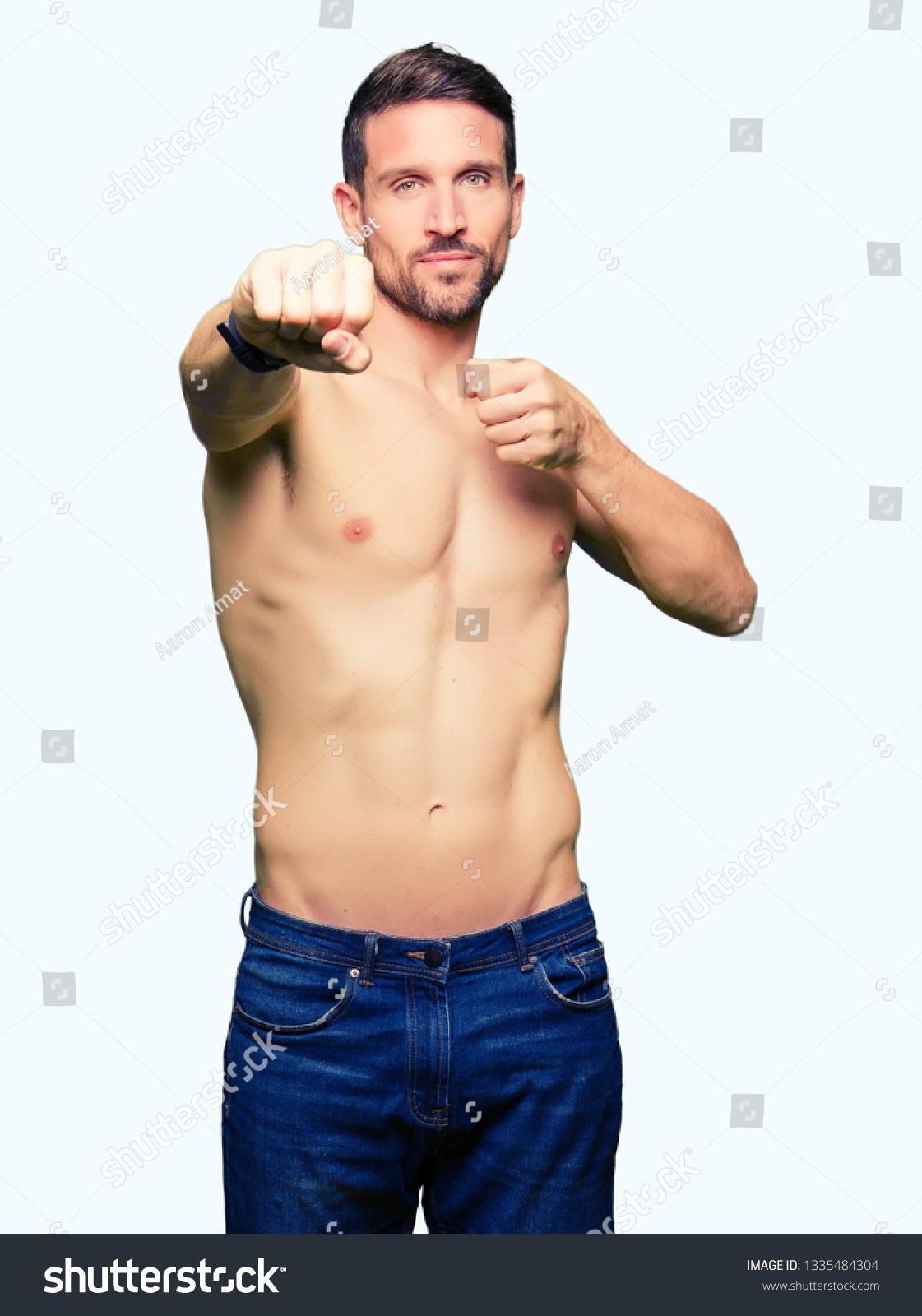 Nude man fight Nude Photos 34
