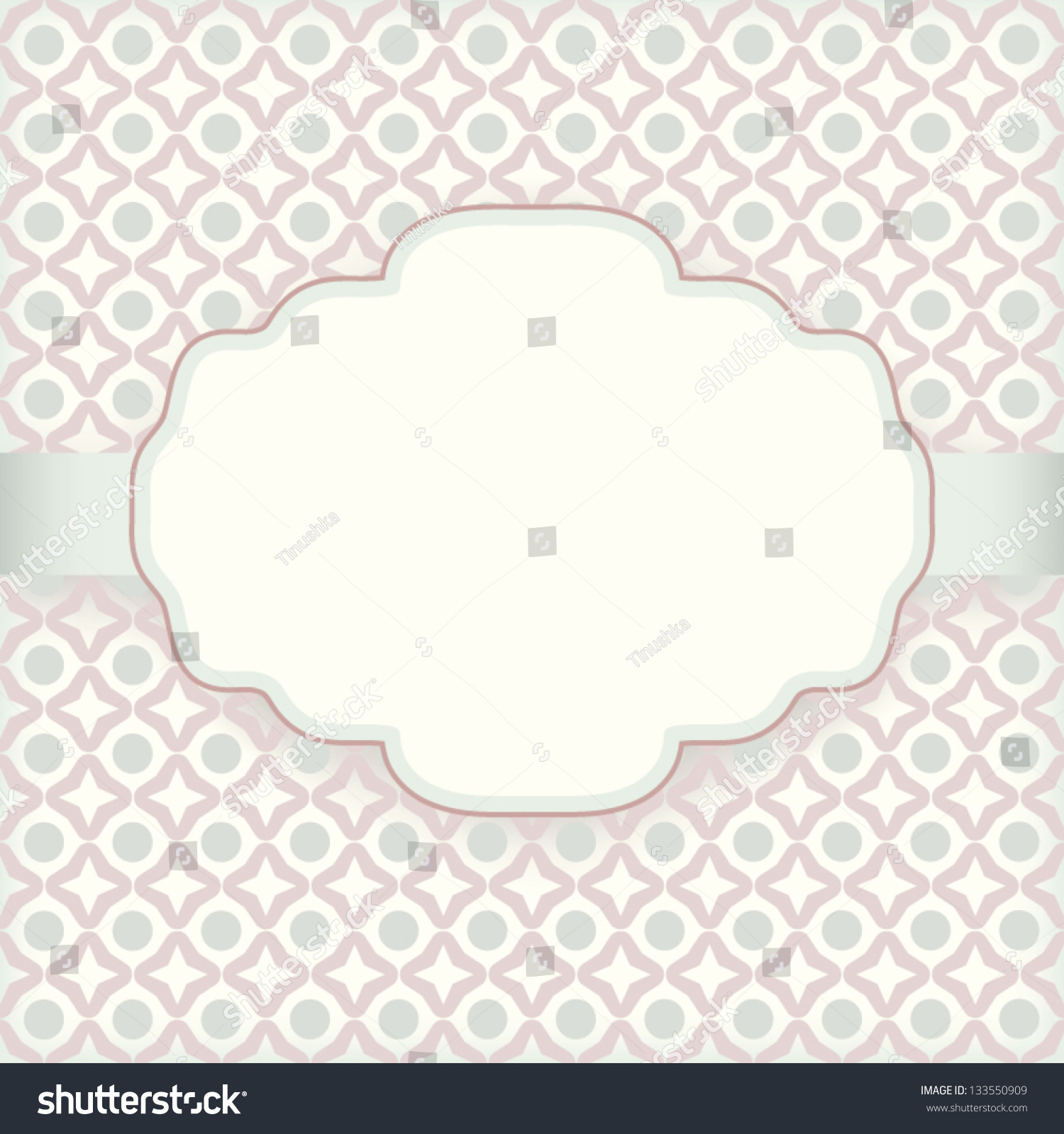 cute vintage invitation card pattern background stock vector royalty free 133550909 https www shutterstock com image vector cute vintage invitation card pattern background 133550909
