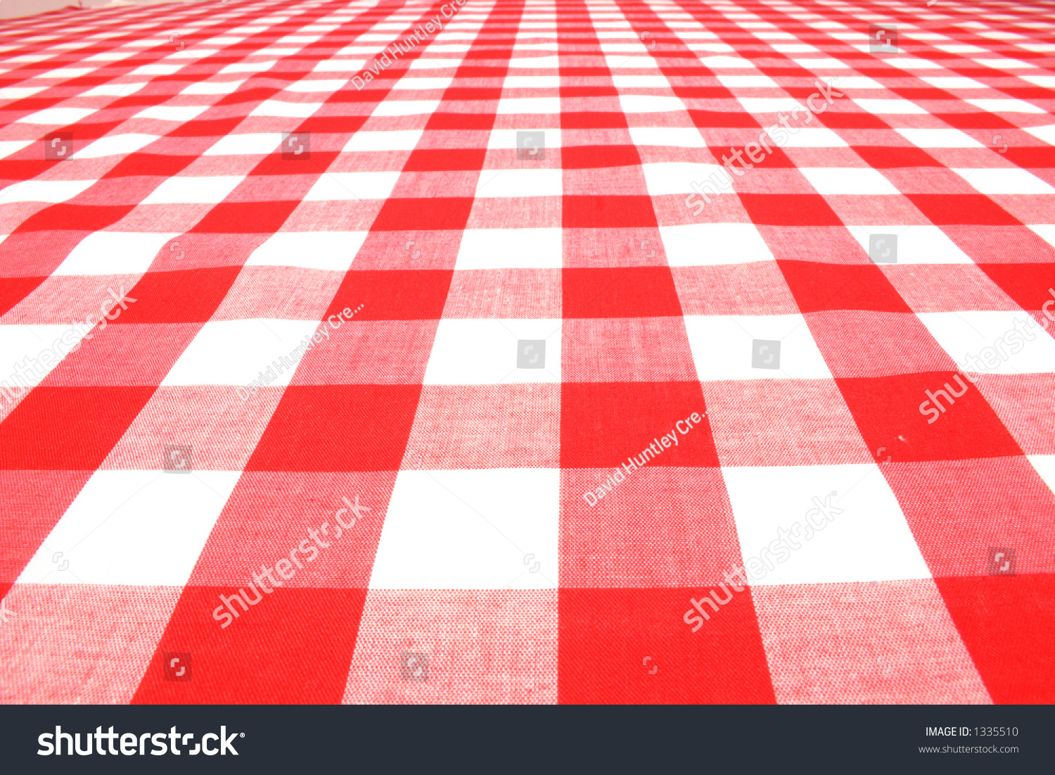 Red Picnic Table Cloth