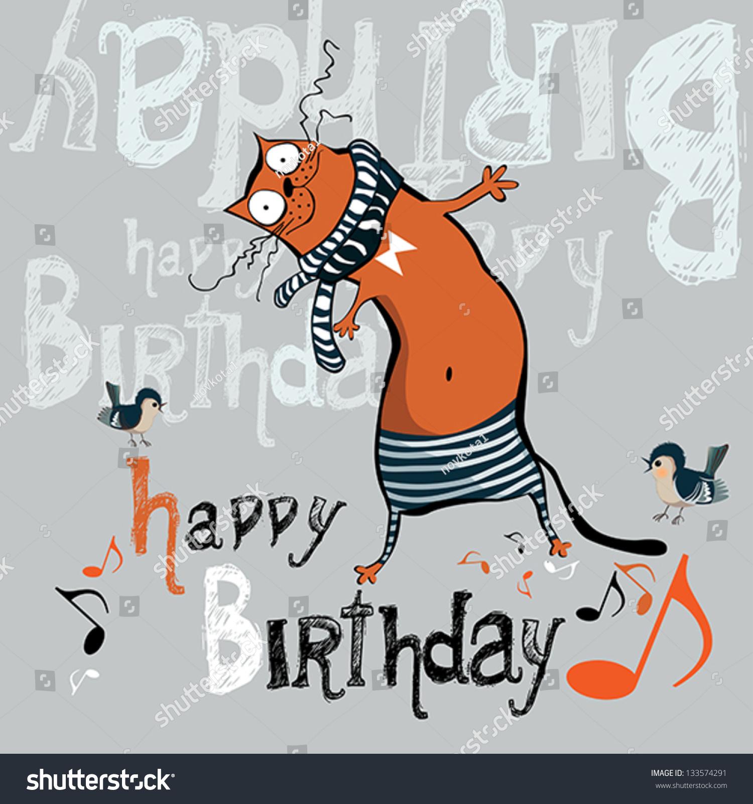 Happy Birthday Funny Cards gangcraftnet – Birthday Funny Card