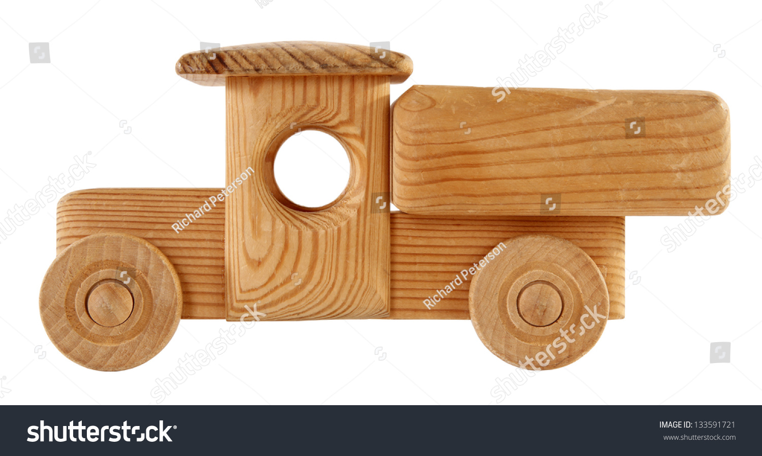Wooden Toy Trucks wooden toy truck stock photo 133591721 ...