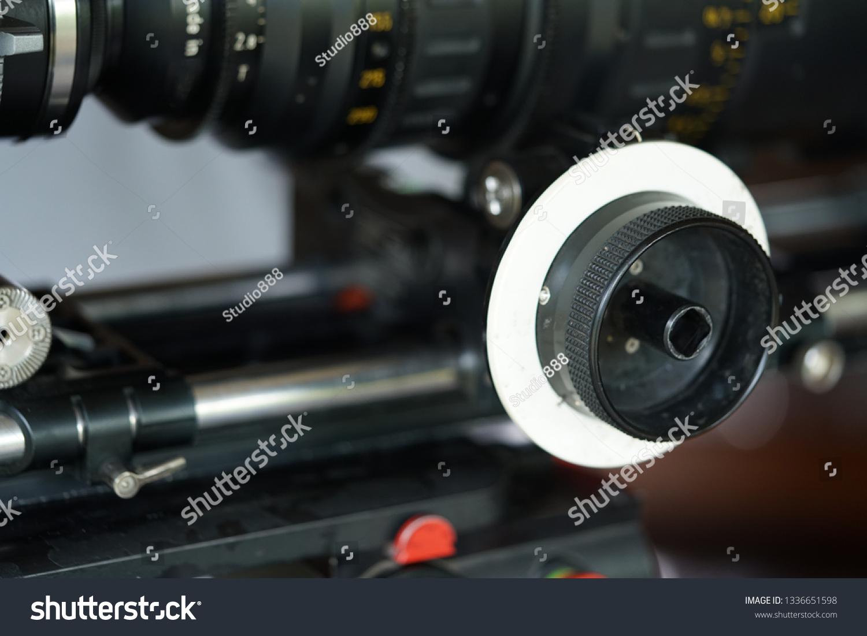Follow Focus On High Definition Digital Stock Photo Edit Now 1336651598