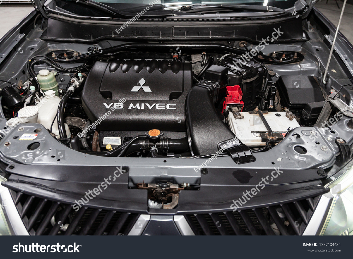 Novosibirsk Russia March 10 2019 Mitsubishi Stock Photo (Edit Now