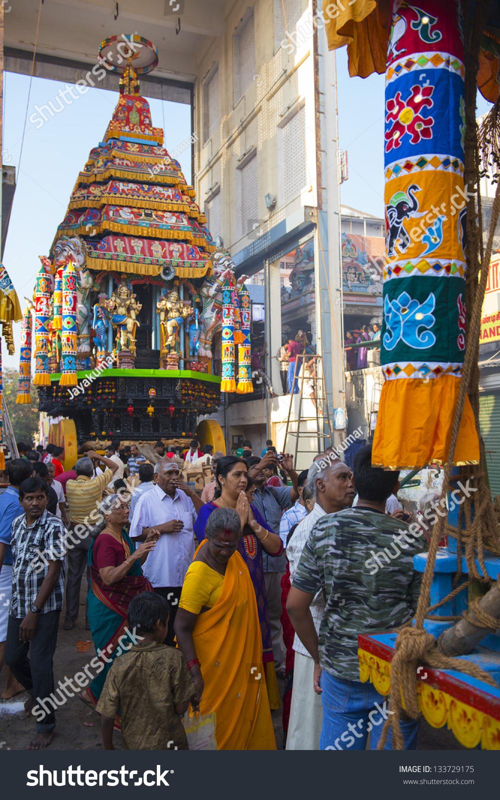 Chennai India March 24 Kapaleeshwar Temple Stock Photo (Edit