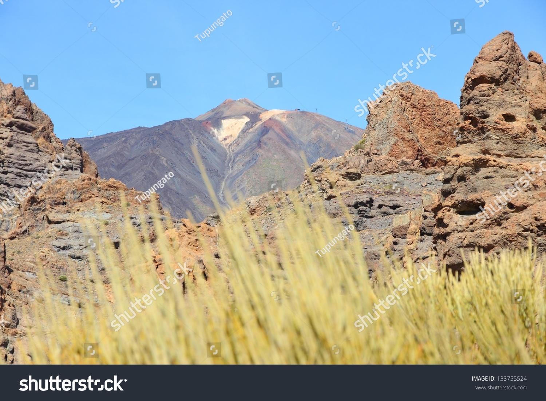 stock-photo-tenerife-volcano-teide-natio