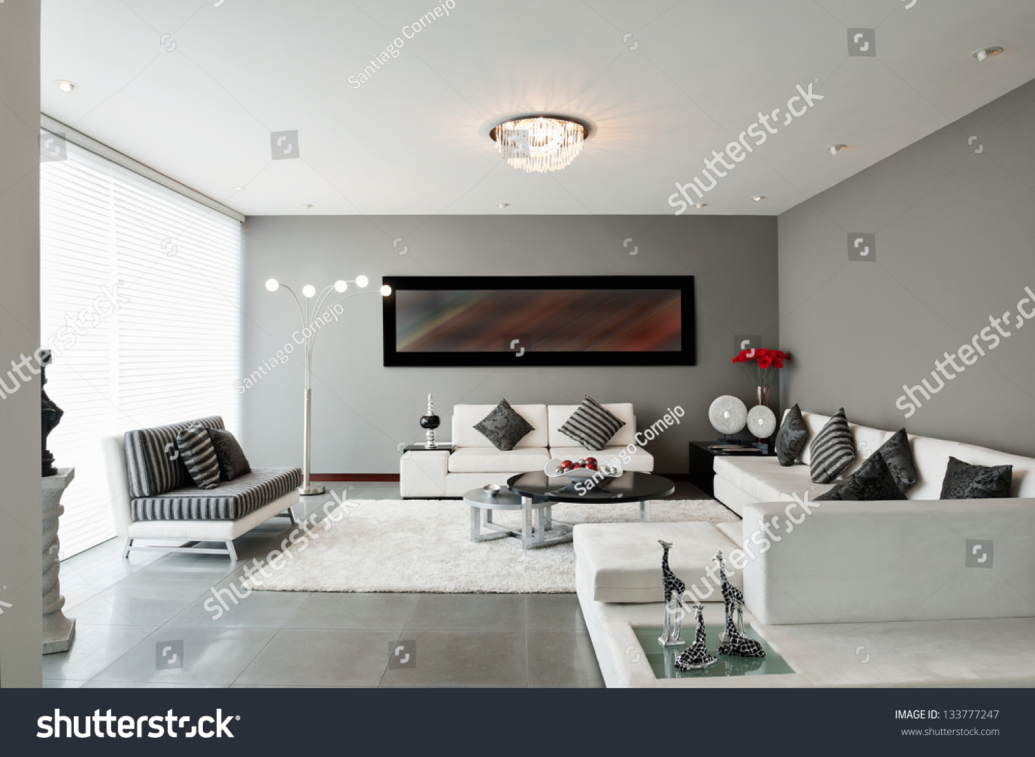 Interior Design Living oom Stock Photo 133777247 - Shutterstock - ^