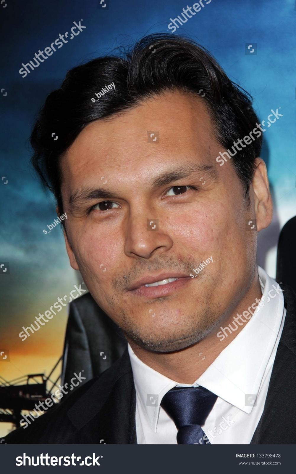 "Adam Beach At The ""Rogue"" L.A. Premiere, Arclight"