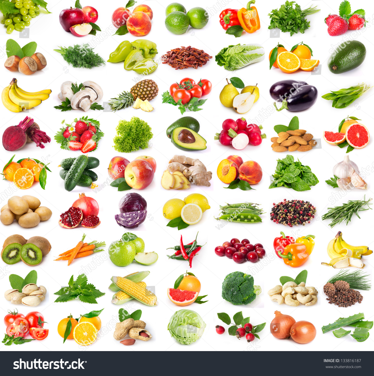 list of vegetables a-z pdf