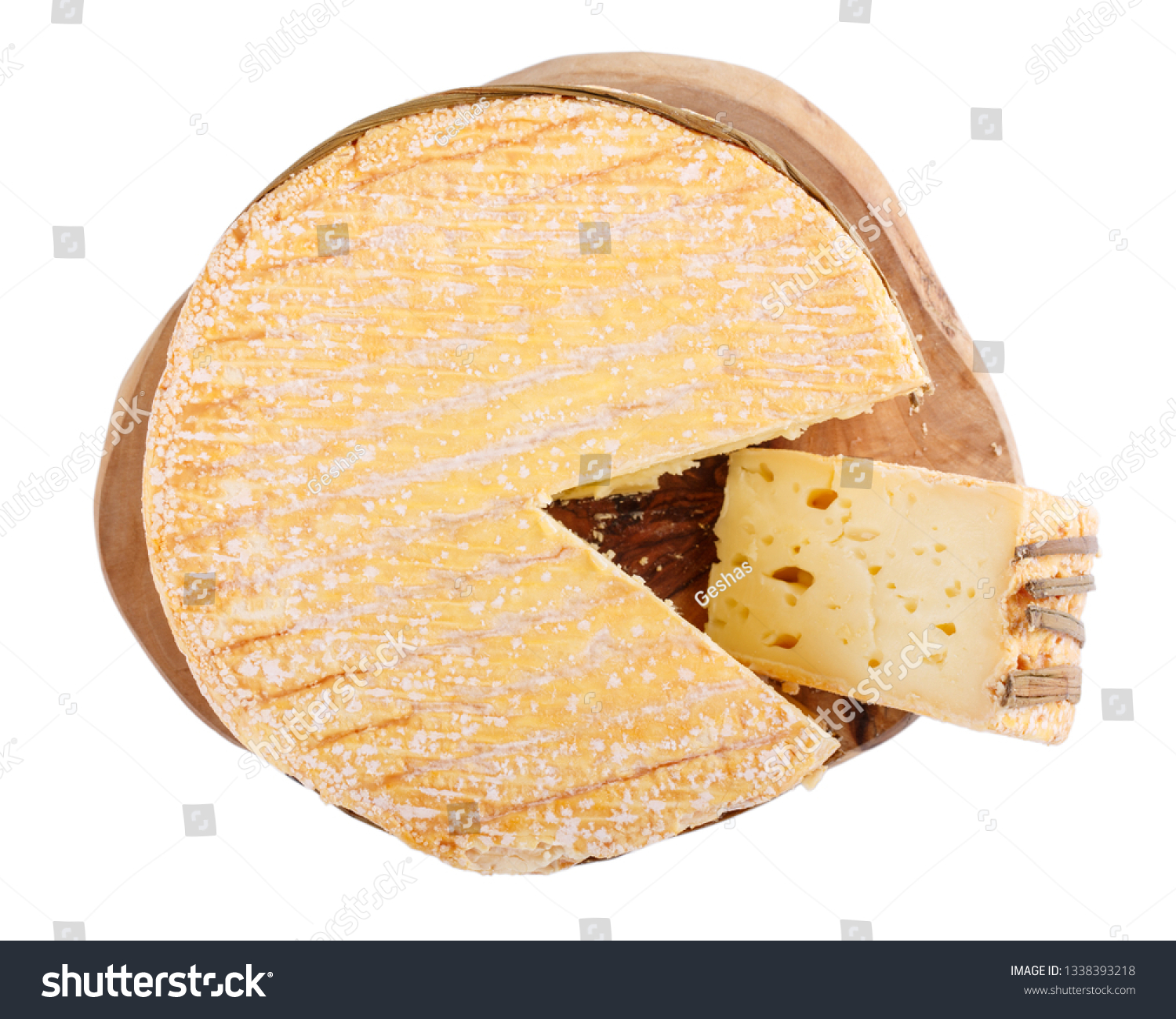 Livarote Cheese Isolated On White Soft Stock Photo Edit Now 1338393218