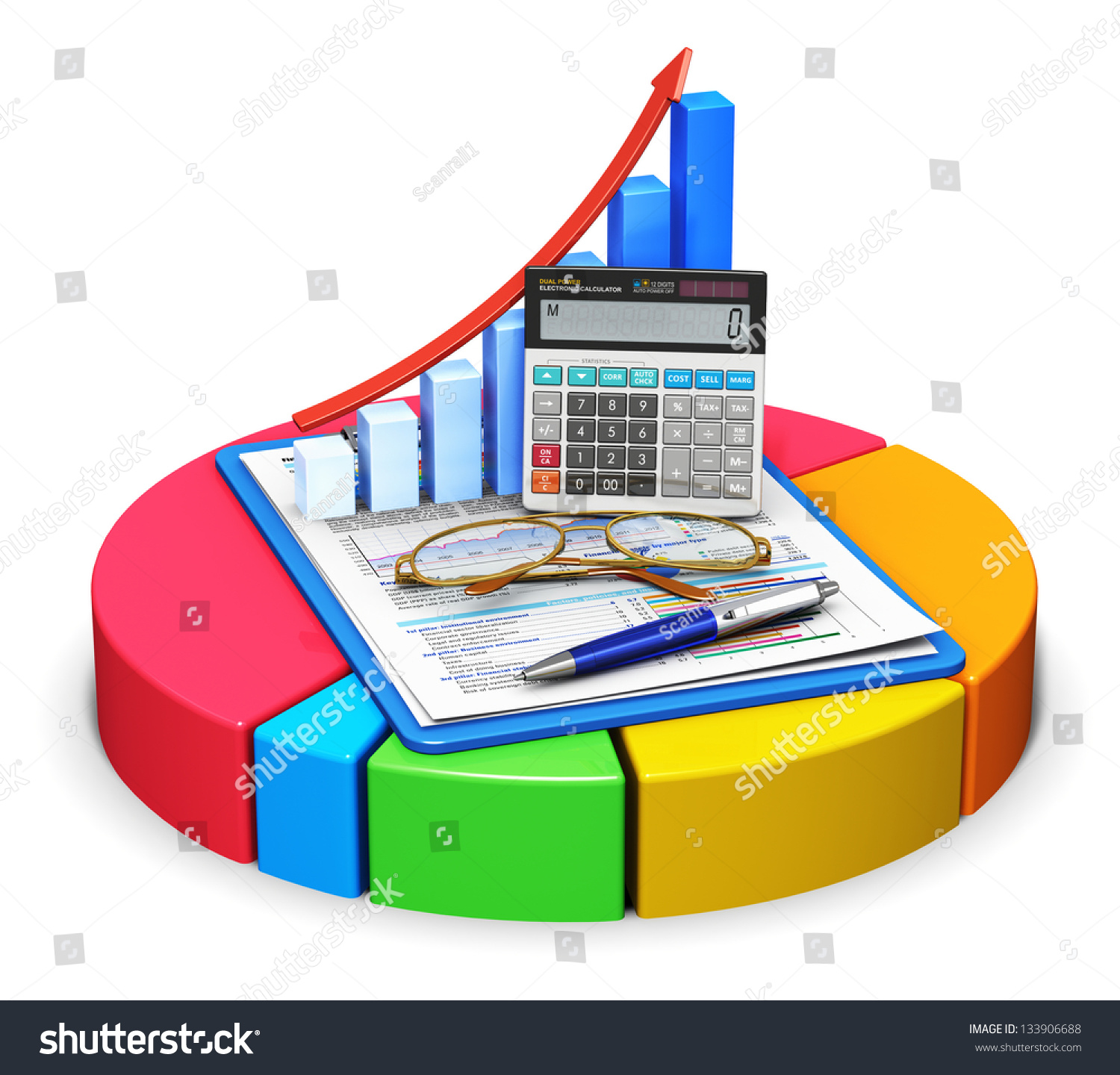 Corporate Finance: Business Finance Tax Accounting Statistics Analytic Stock