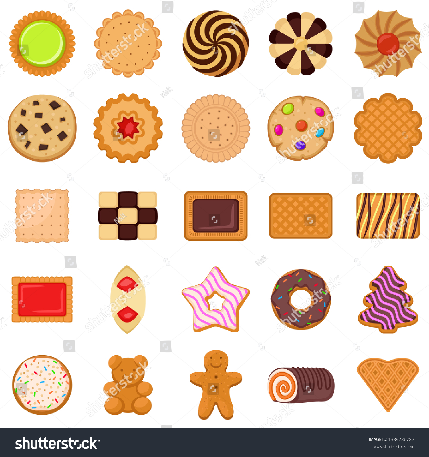 biscuit icons set flat set biscuit stock vector royalty free 1339236782 https www shutterstock com image vector biscuit icons set flat vector web 1339236782