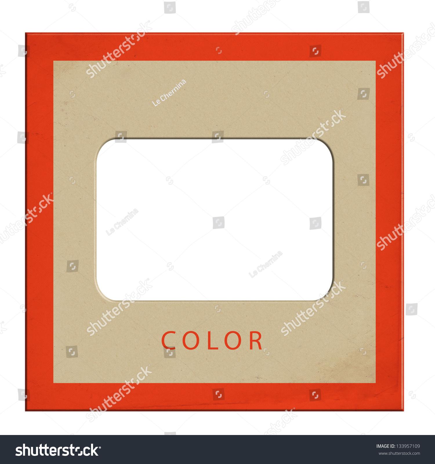 Slide Empty Old Frames Stock Illustration 133957109 - Shutterstock