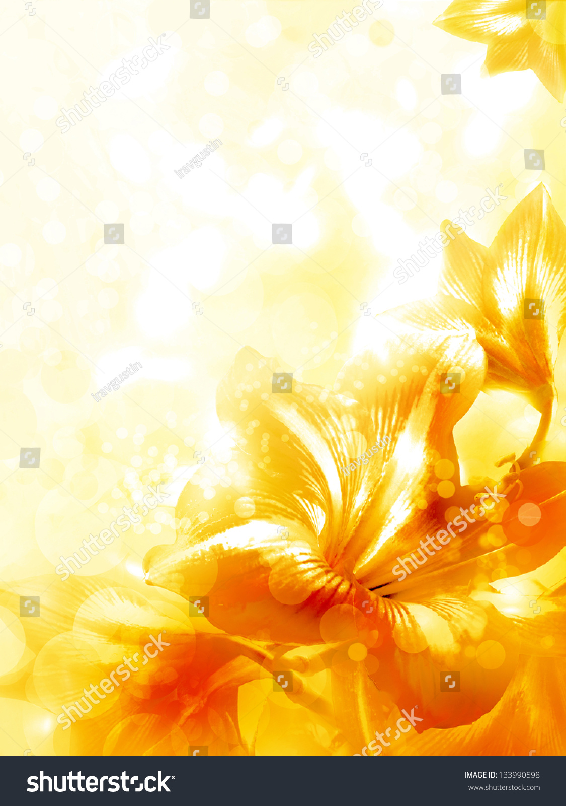 Abstract yellow flower card beautiful flower stock photo edit now abstract yellow flower card beautiful flower background spring background izmirmasajfo