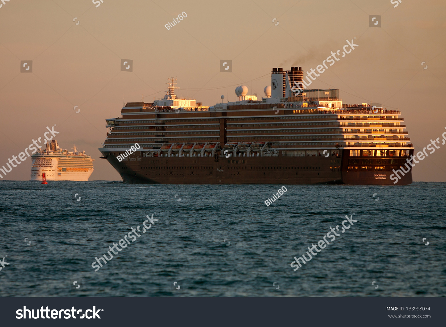 Fort Lauderdale Fl  Dec 27 Two Cruise Ships Depart Ft