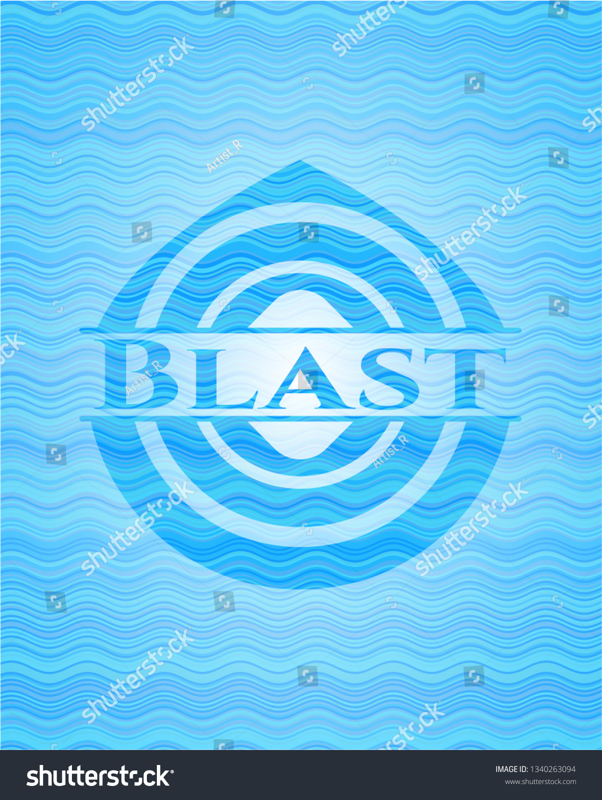 blast water representation emblem background stock vector royalty free 1340263094 shutterstock