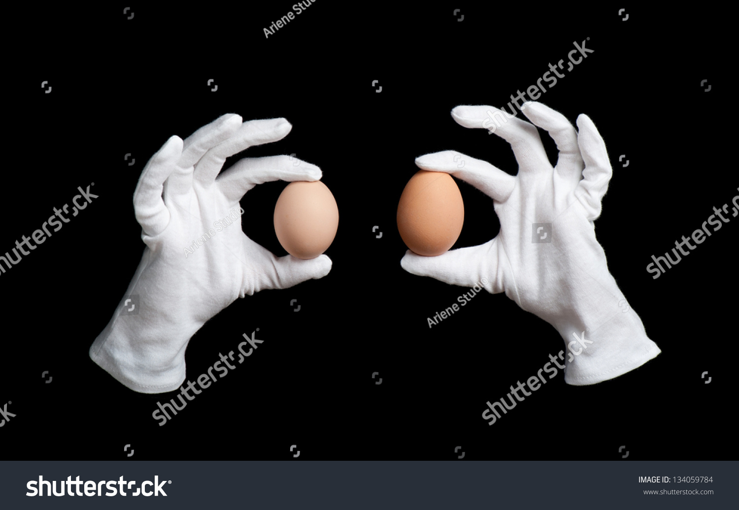 Black gloves white magic - Two Boiled Whole Eggs In White Gloves On Wizards Hands Magic Trick On Black Background