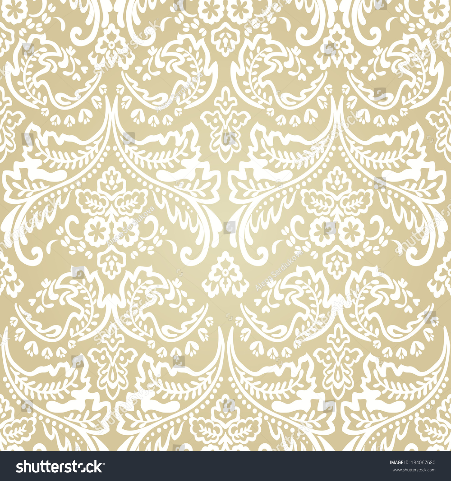 Seamless pattern background Damask wallpaper Vector illustration  Seamless  Pattern Backgrounddamask Wallpaper Vector Illustration. Seamless Victorian Wallpaper Texture