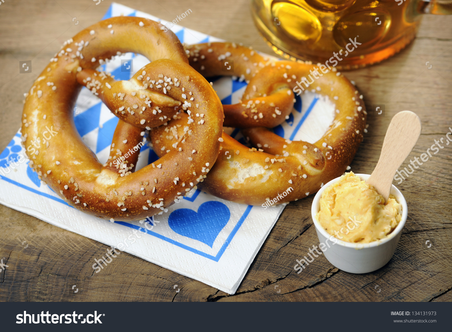 Image result for traditional german pretzel