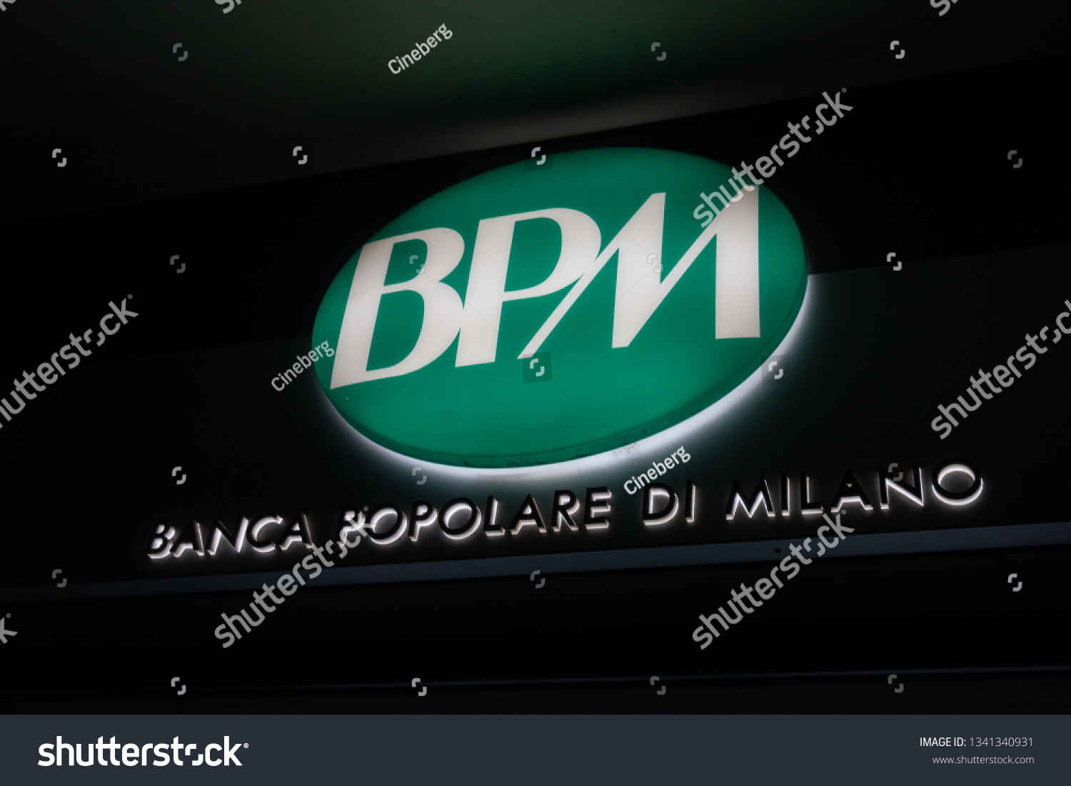 Rome Italy August 9 2018 Banca Stock Photo Edit Now 1341340931