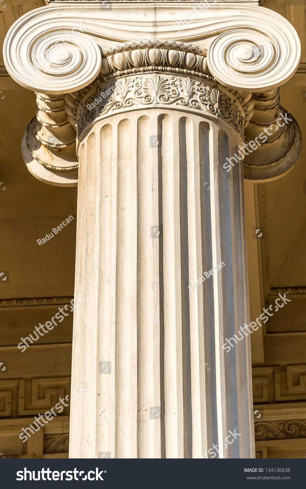 Греческие колонны своими руками