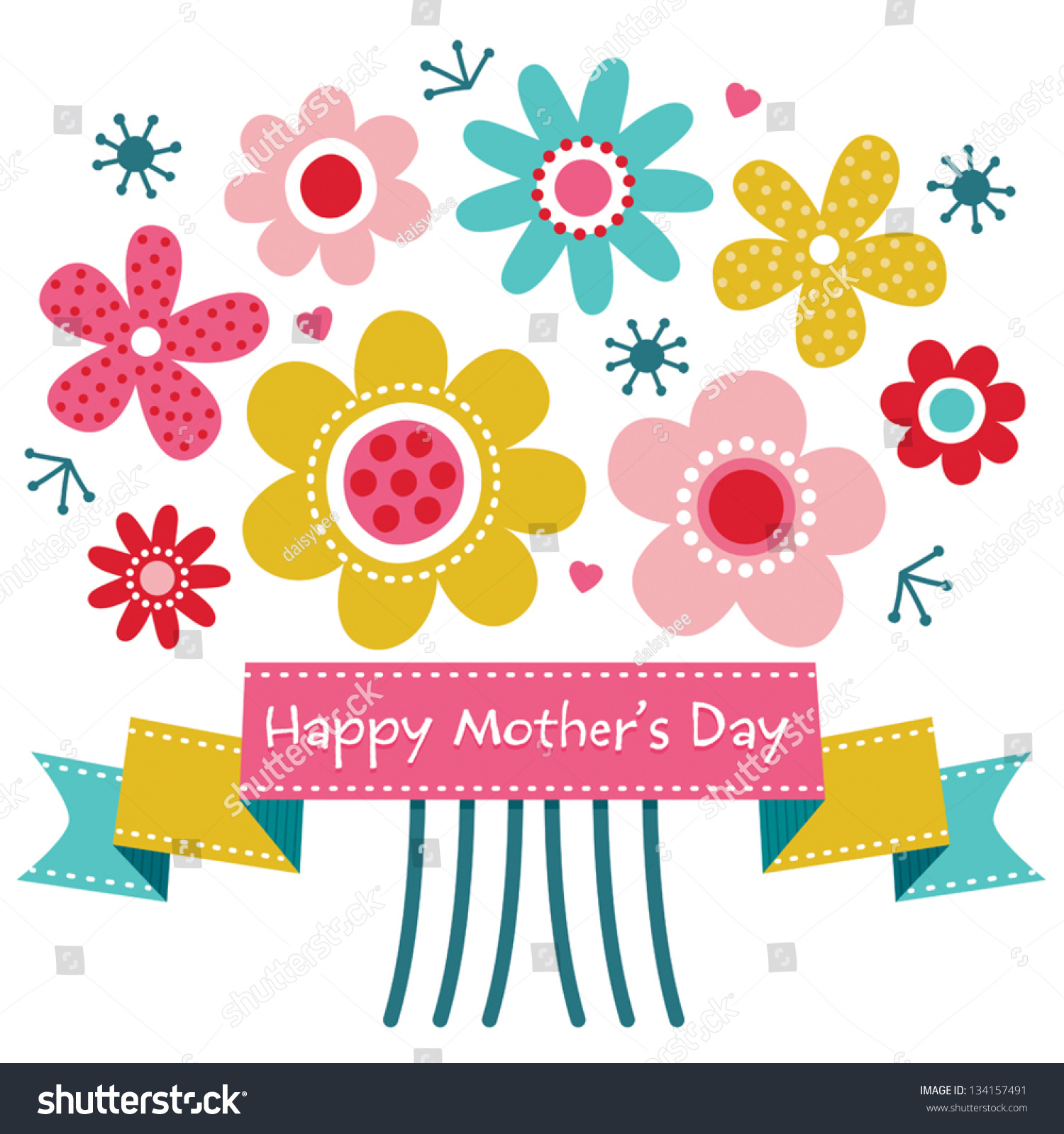 Happy Mothers Day Banner Clipart | www.imgkid.com - The ...