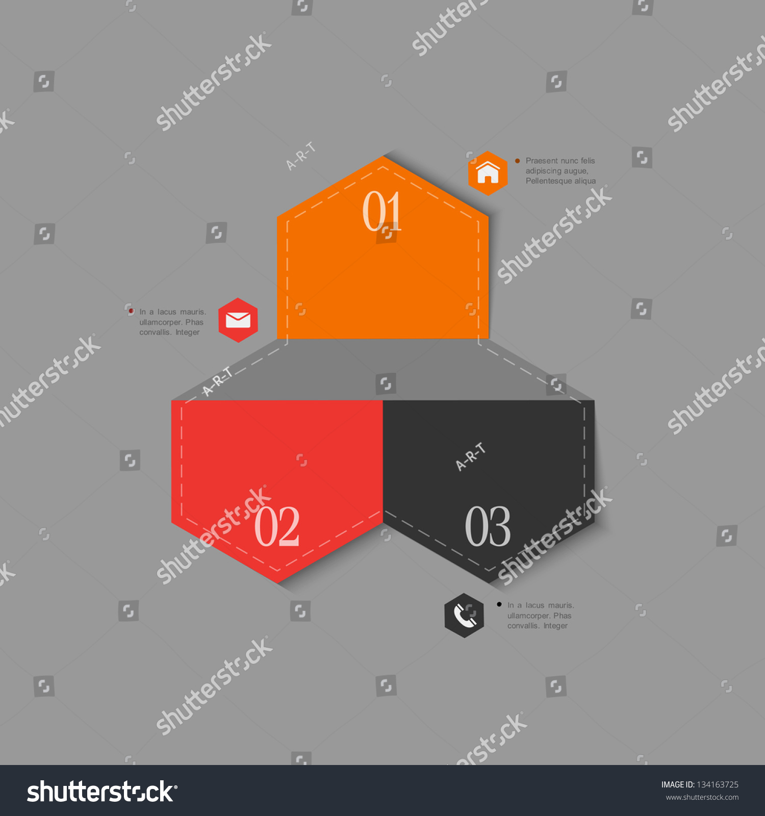Trendy Design Template Infographics Website Templates Stock Vector ...