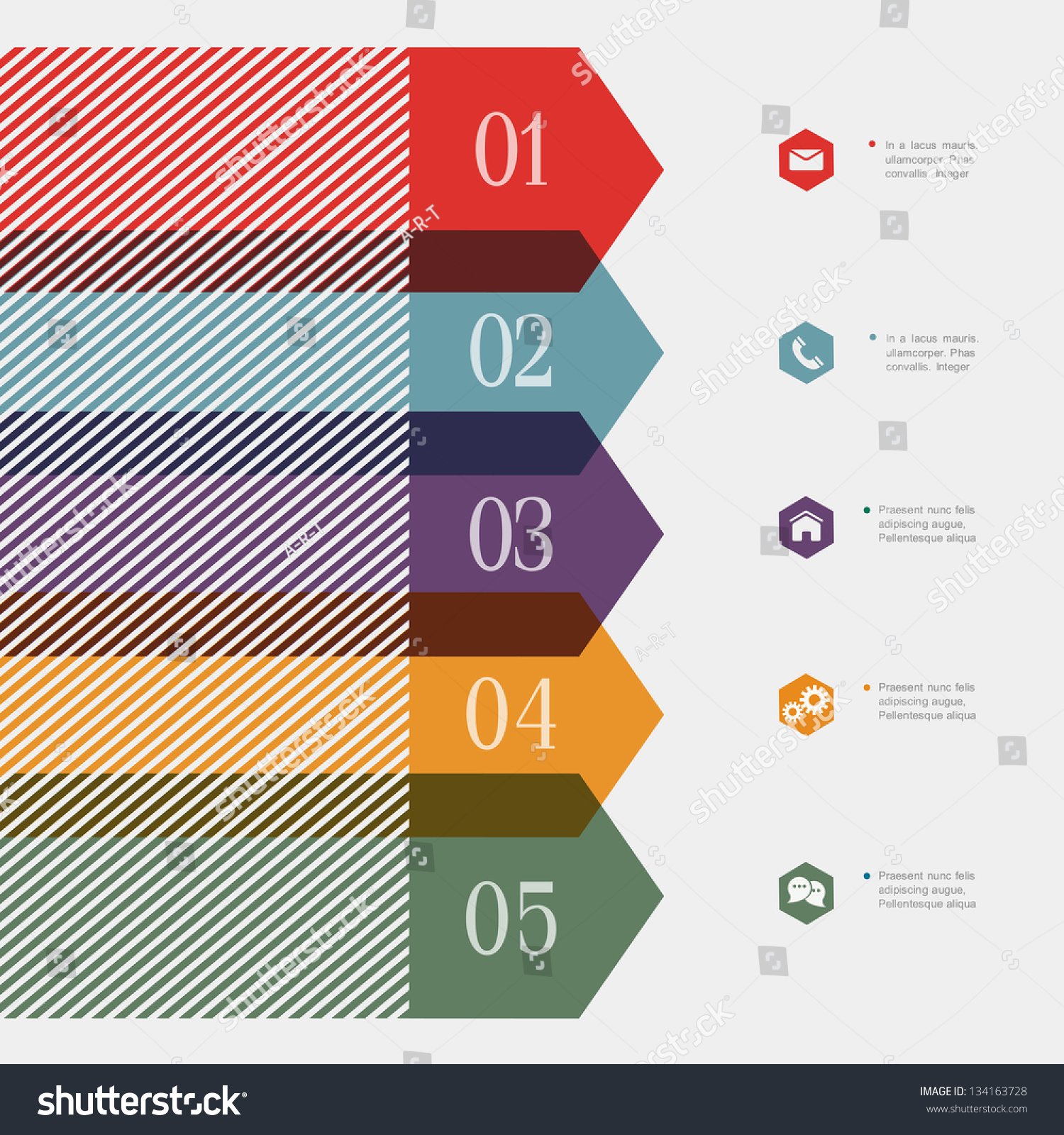 creative bannerarrow design infographicswebsite templates design creative banner arrow design for infographics website templates or design graphic for business