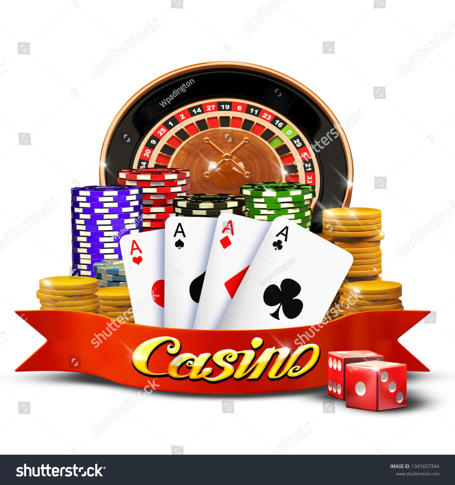 Mobile Casino Background Poker Online Application Stock Illustration 1341657344