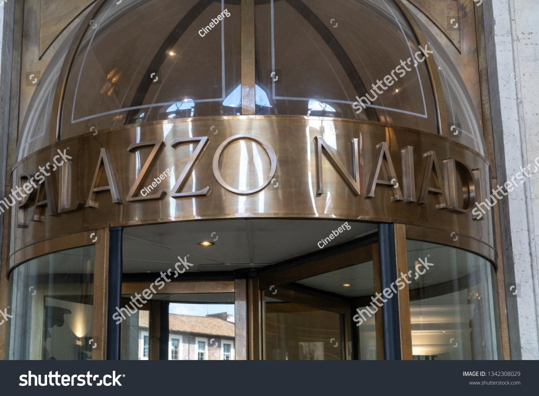 Rome Italy August 10 2018 Palazzo Stock Photo Edit Now 1342308029