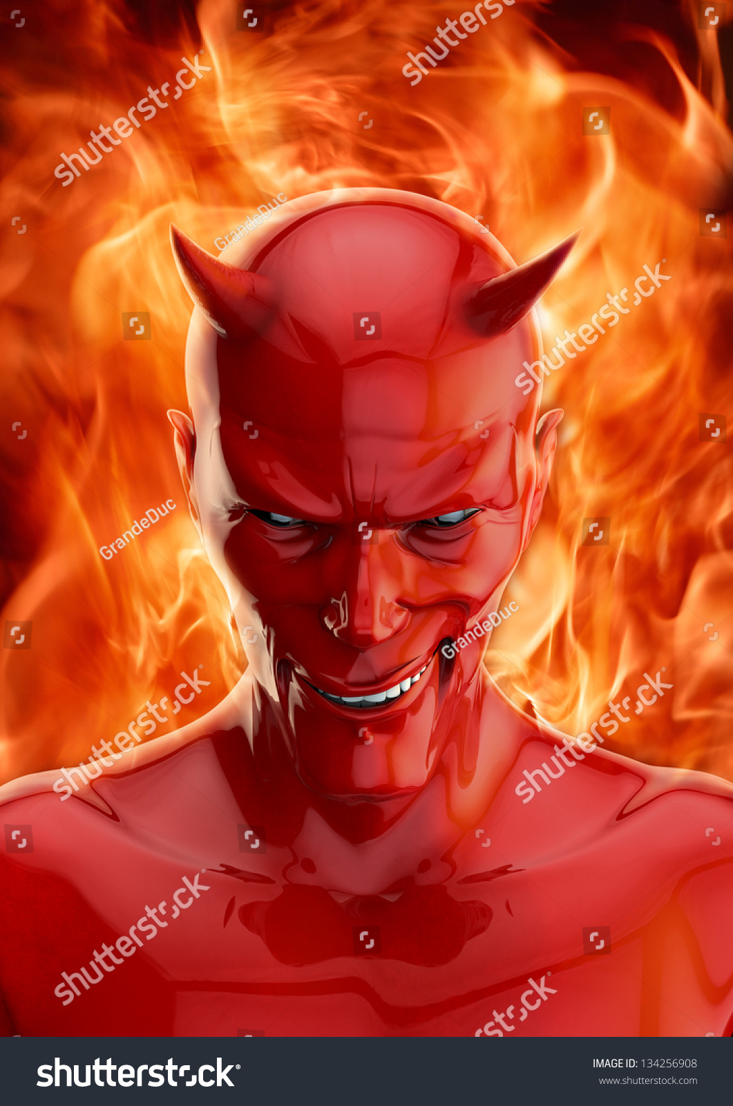 The Devil Stock Photo 134256908 : Shutterstock