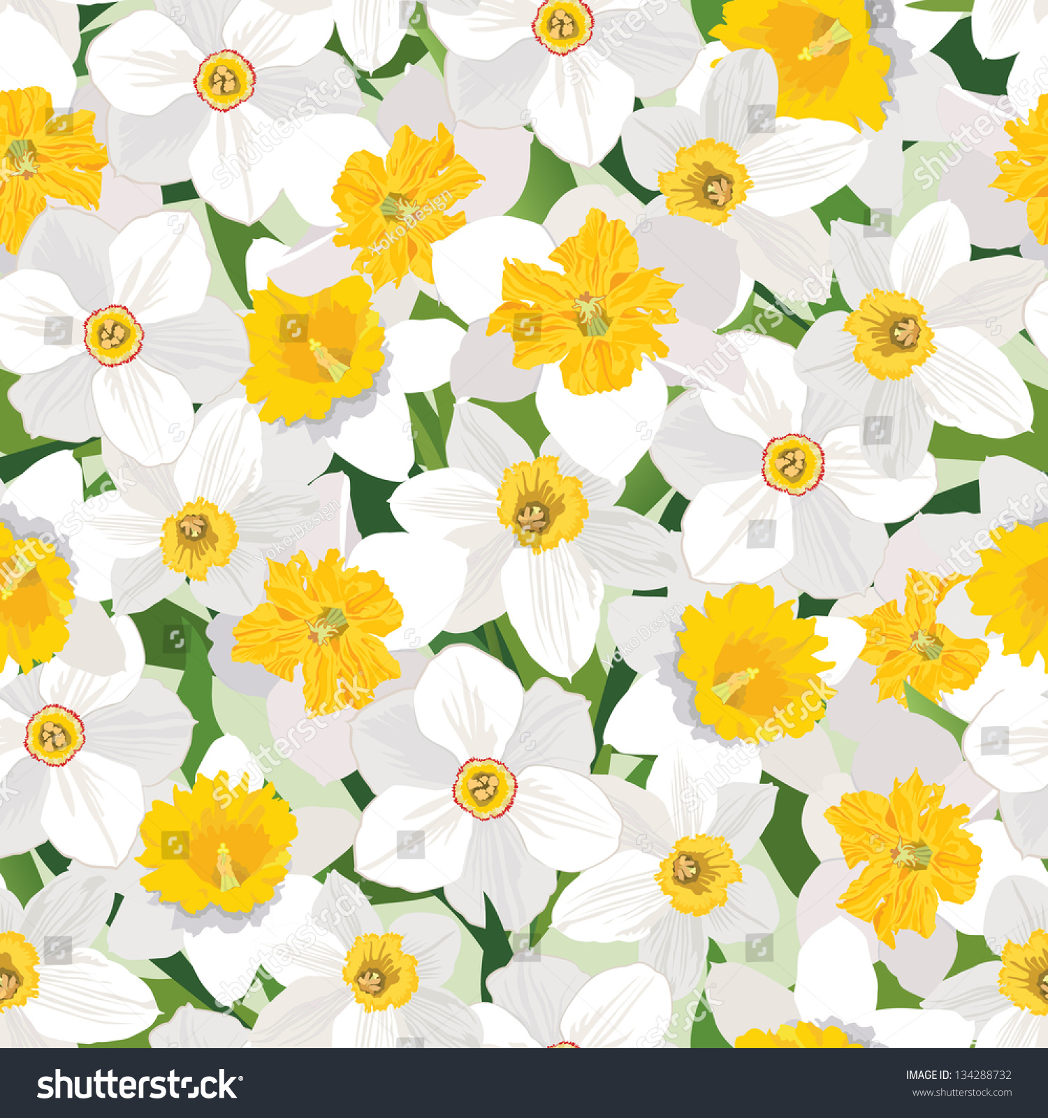 template of a daffodil - daffodil pattern the image kid has it