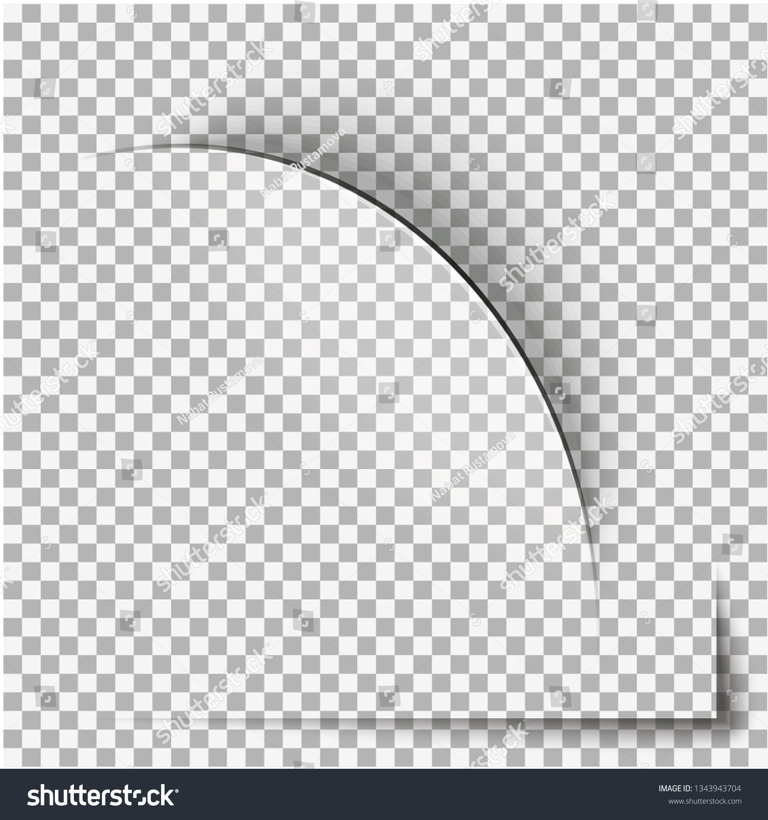 Ripped Paper Vector Stock Vector (Royalty Free) 1343943704