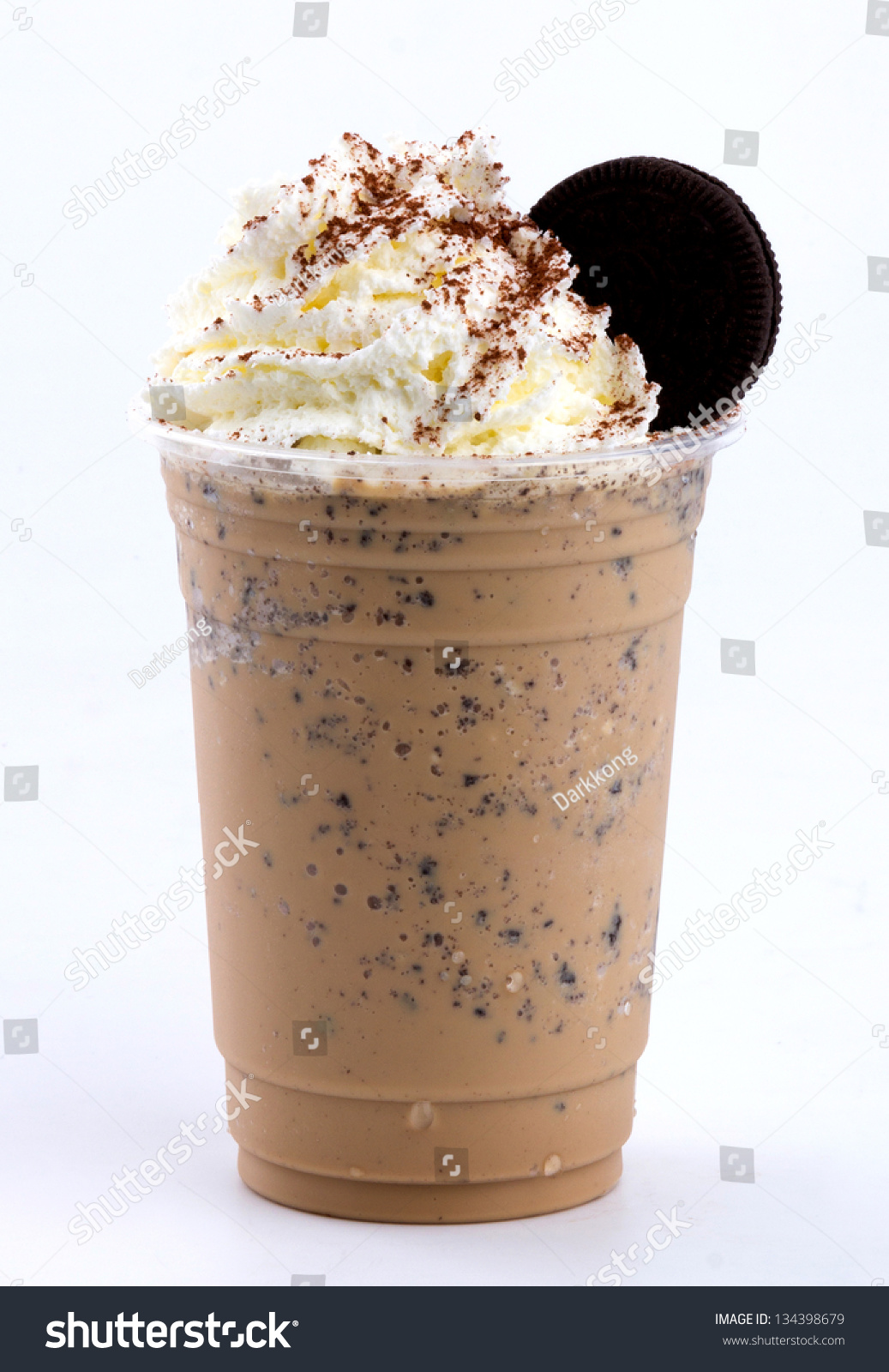 how to make a cookies and cream frappuccino